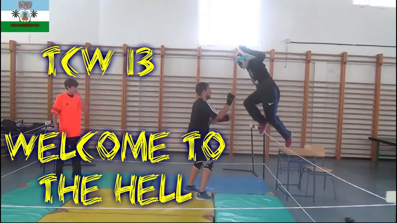 |TCW 13 Welcome to the Hell Hightlighs| Backyard Wrestling ...