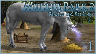 Unicorns, Dragons, and Mermaids - Oh My!! • Wildlife Park 2: Fields of Fantasy • #1