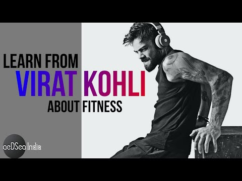 Things You can LEARN From VIRAT KOHLI About FITNESS | Motivation | aeDSea India