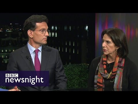 Donald Trump wins... what next? Eric Cantor and Lissa Muskatine - BBC Newsnight