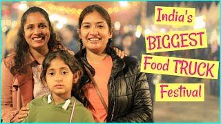 "India's BIGGEST Food TRUCK Festival ""Horn OK Please"" | #MyMissAnand #ShrutiArjunAnand #CookWithNisha"