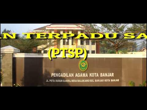 PTSP (Pelayanan Terpadu Satu Pintu) PENGADILAN AGAMA  KOTA BANJAR