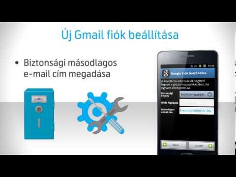 Android készülékek Gmail beállítása