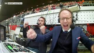So erlebte Kommentator Martin Konrad das 4:3-Torspektakel zwischen Liverpool und Salzburg