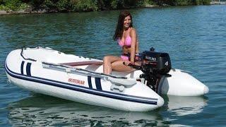 Как делают надувные лодки