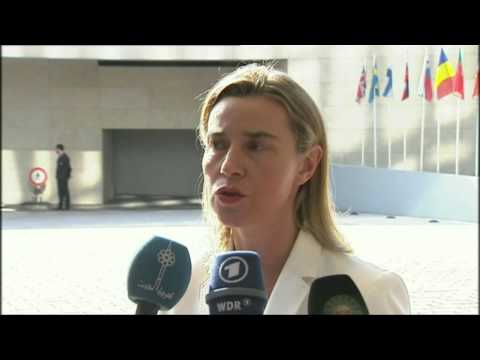 Foreign Affairs Council: Federica Mogherini