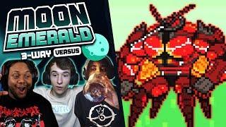 ULTRA BEAST ENCOUNTERS! - Pokémon Moon Emerald Randomizer VERSUS w/ Sacred & Nexus! Episode #06