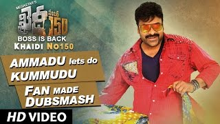 Download Hindi Video Songs - Ammadu Lets Do Kummudu Dubsmash Video | Khaidi No 150 | Chiranjeevi, Kajal | Rockstar DSP