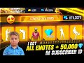 Buying   Diamonds Dj Alok All Rare Emotes From New Event In Subscriber Id Garena Free Fire  Mp3 - Mp4 Download
