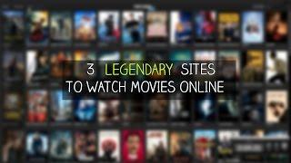 Top 3 LEGENDARY Websites to watch MOVIES online   2017-No Sign up