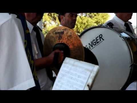 Filarmónica de Pomares nas Festas de Nª Srª da Saúde  Carregal Friúmes Penacova