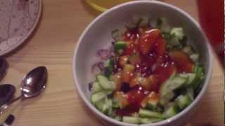 Gurken Salat Asia Style [cucumber Salad Asia Style]