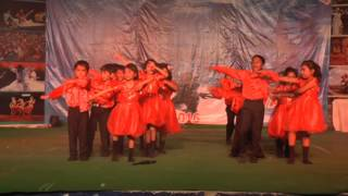 Salsa Dance Performance by Kids School Orion Dale Town Dance Company