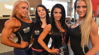 A selection of top fitness and bodybuilding girls  Подборка девушки культуристки и бикинистки