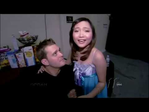 Charice Meets Michael Buble and Josh Groban