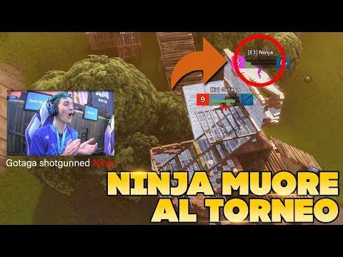 NINJA MUORE nel TORNEO contro GOTAGA, che FINALE! | Fortnite ITA