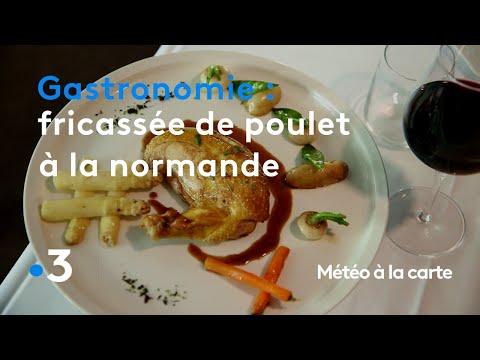 gastronomie-:-fricassée-de-poulet-à-la-normande---météo-à-la-carte