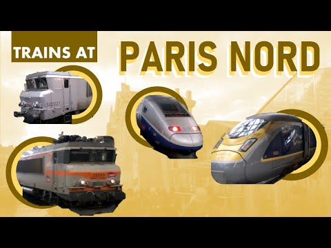 Eurostar, TGV, and Thalys @Paris Gare du Nord