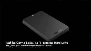 Toshiba Canvio Basics External Hard Drive from Geeks.com
