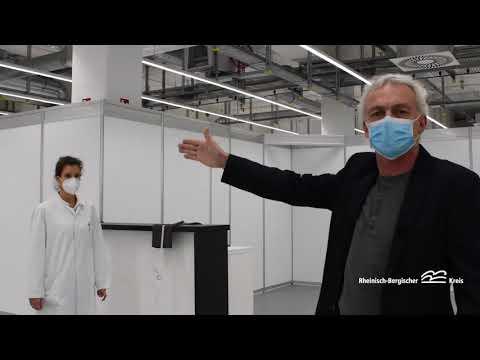 Corona-Impfzentrum des Rheinisch-Bergischen Kreises ist einsatzbereit