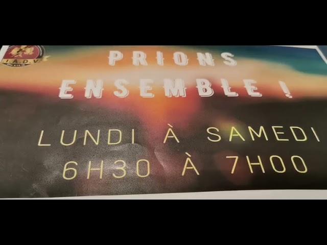 Prions ensemble - 25/10/21 - Pst. O. Sarr