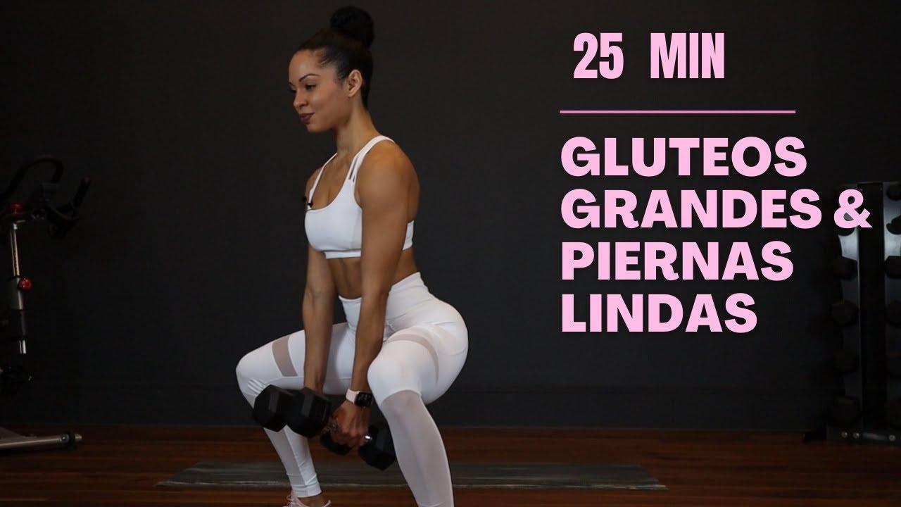 Download RUTINA PARA AUMENTAR GLUTEOS Y PIERNAS EN CASA | 25 minutos