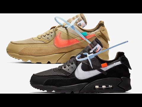 58eddac67281 Resale Predictions for Off White Nike Air Max 90 Desert Ore   Core Black +  Best Way to Cop