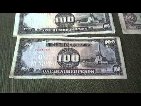 Philippine Pesos Paper Currency Japanese Govnmt