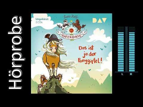 Das ist ja der Ponygipfel! YouTube Hörbuch Trailer auf Deutsch
