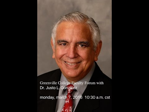 Faculty Forum with Dr. Justo L. González