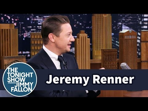 Jeremy Renner Chucked Doughnuts at Ed Helms After Breaking Both Arms