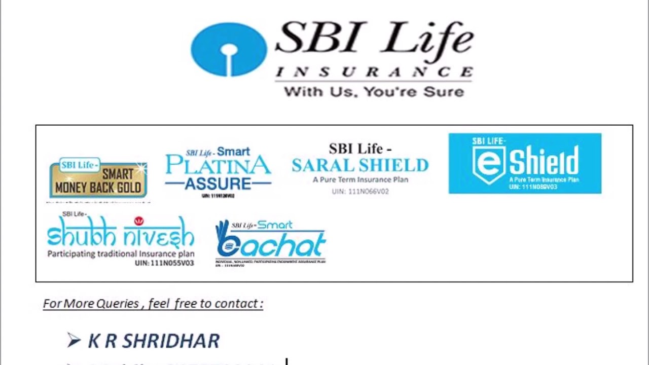 Best SBI Life Insurance Policies - YouTube