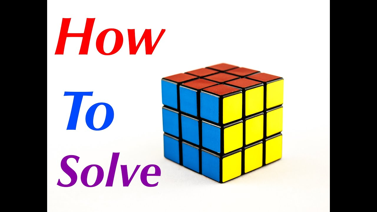Simplest And Easiest Way To Solve A 3x3 Rubik's Cube For Beginners  Youtube