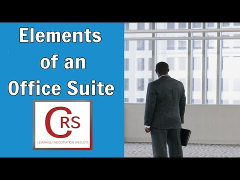 Commercial Realty Specialists - Elements of an Office Suite (Walkthrough)