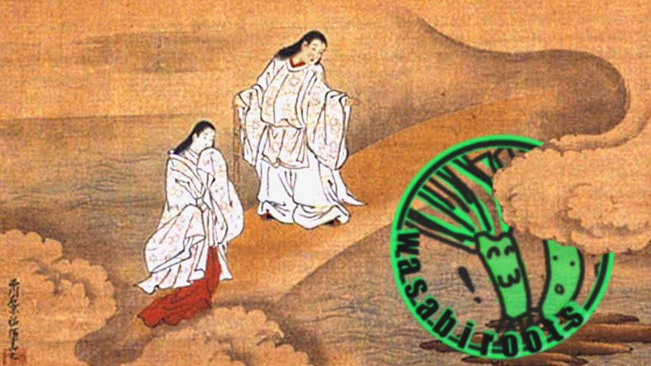 izanagi and izanami in japanese mythology youtube