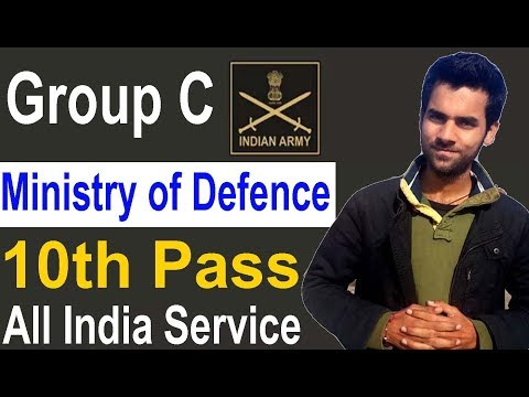 10th Pass Group C Ministry of Defence All India Vacancy Latest Government Job