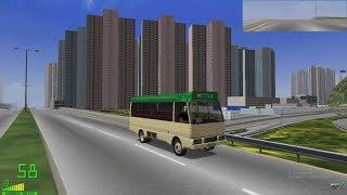 mm2 tour (1098) 沙田 -  將軍澳 @ 香港小巴 mitsubishi rosa Hong Kong Public light bus