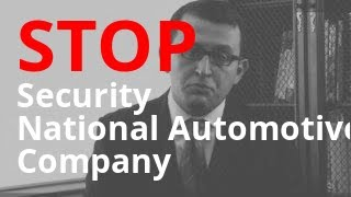 Harassed by Security National Automotive Acceptance Company? | Call Us for Help 855-301-5100