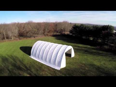 ShelterTech Heavy Duty RV Shelters - Wind/Snow Rated - 15 Yr. Warranty