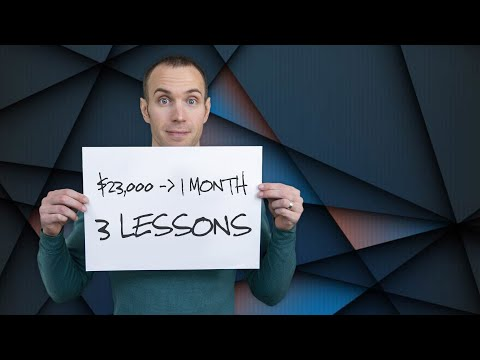 3 Lessons After Making $23,000 in 1 Month (Day Trading Stocks)