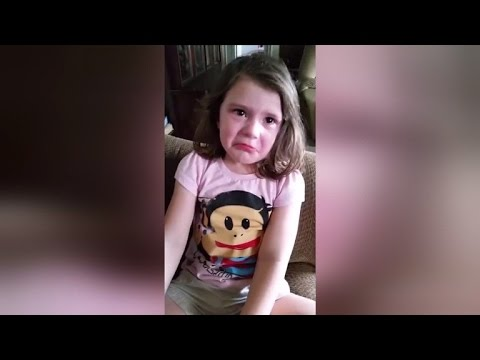 4-Year-Old Girl Sobs Because She's Not Old Enough to Vote Yet