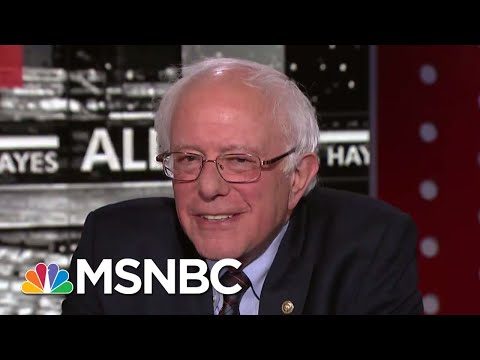 Senator Bernie Sanders: It's Time To Decriminalize Marijuana | The Last Word | MSNBC