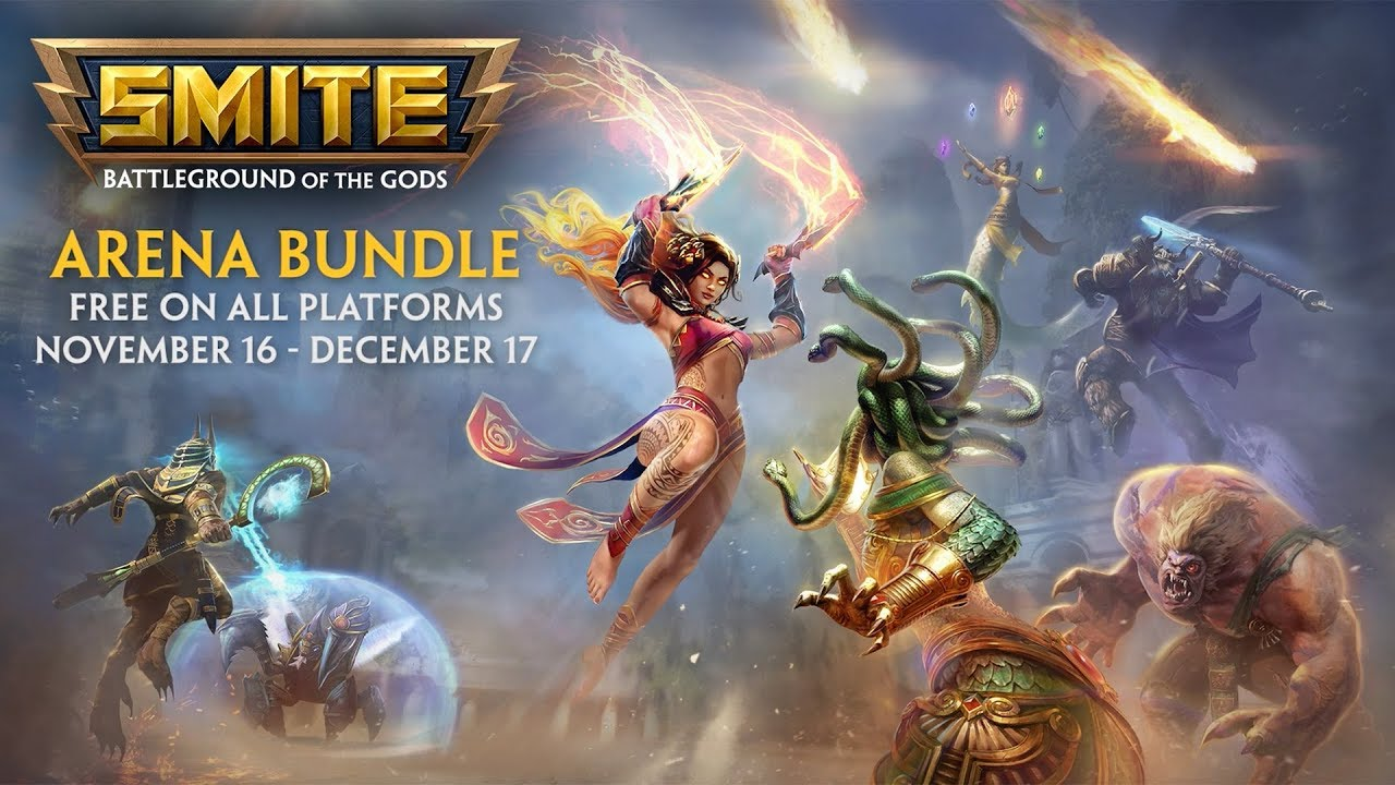Hi-Rez Expo 2018: Get free goodies for SMITE, Paladins, and Realm