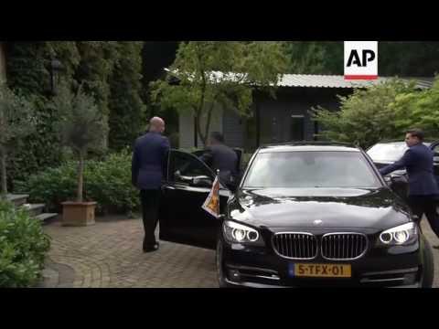 UK Duchess of Cambridge meets Dutch King