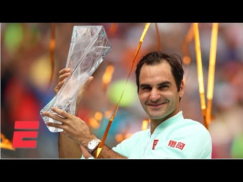 Roger Federer neutralizes John Isner for his 4th Miami Open Title | 2019 Miami Open