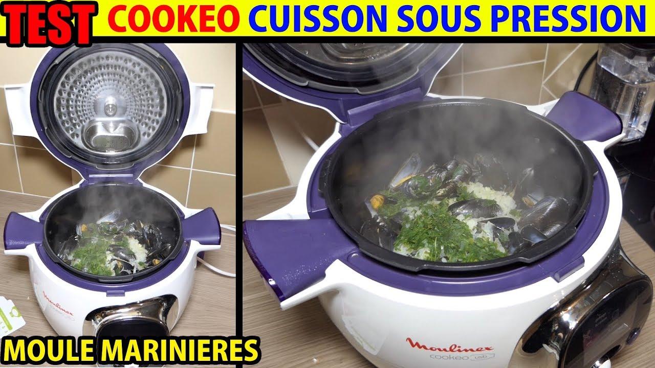 cookeo recette moules marini res test cuisson sous pression moulinex youtube. Black Bedroom Furniture Sets. Home Design Ideas