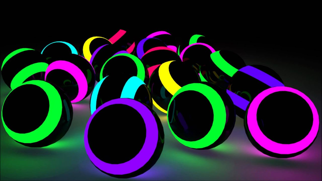 3d Colour Wallpaper Free Download Rlp Leuchtende Kugeln Made In Blender Youtube