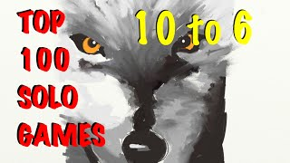 TOP 10 Solo Board Games - 10 to 6...