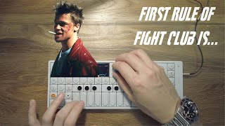 """""""FIRST RULE OF FIGHT CLUB"""" — Remixing Tyler Durden"""