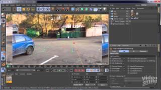 Cinema 4D  Motion Tracker в Cinema 4D R16 Уроки 3D